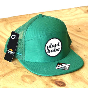 plant babe men's hats- kelly green
