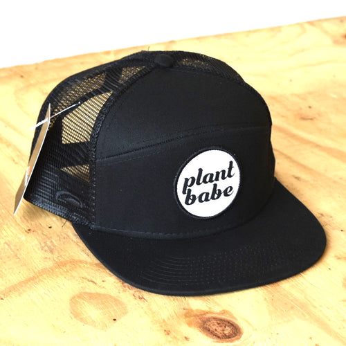 plant babe men's hats- black