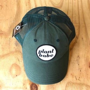 plant babe women's hat- forest