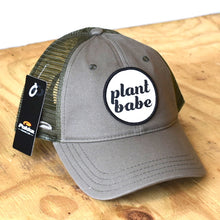 plant babe women's hat- olive
