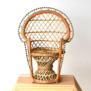 peacock plant chair