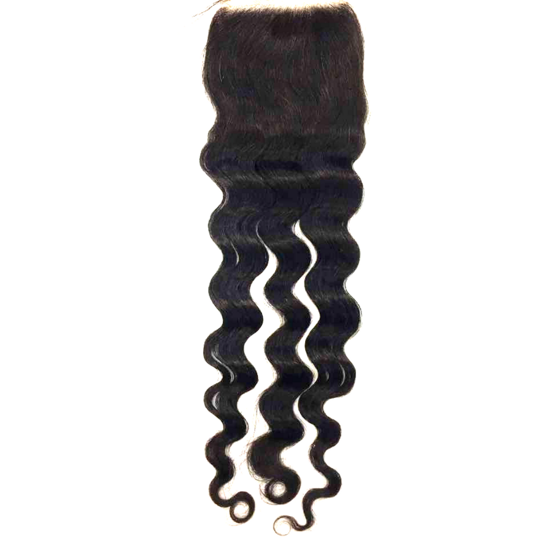 Medium Curl Closure