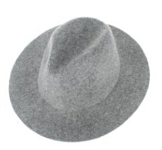 Real Wool Fedora Hat