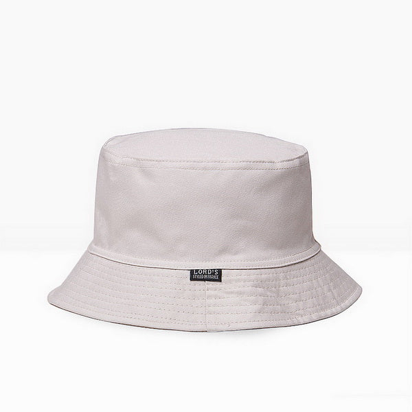 NUZADA 2017 Sunscreen Men Women Bucket Hat Caps Summer Autumn Solid Color Fisherman Panama High Quality Cotton Simple Hats