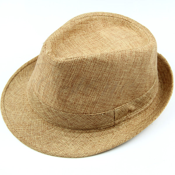 Casual Fedora Hat Straw Hat