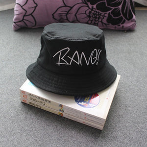BANG Embroidered Bucket Hat