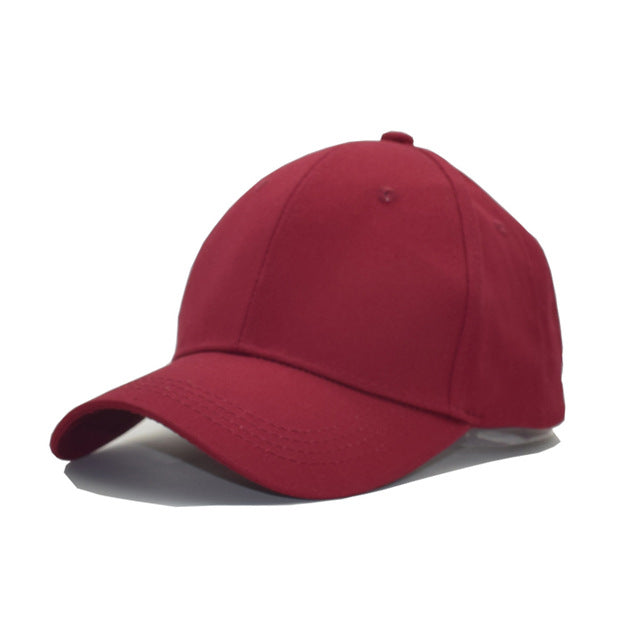 Solid Color Baseball Caps