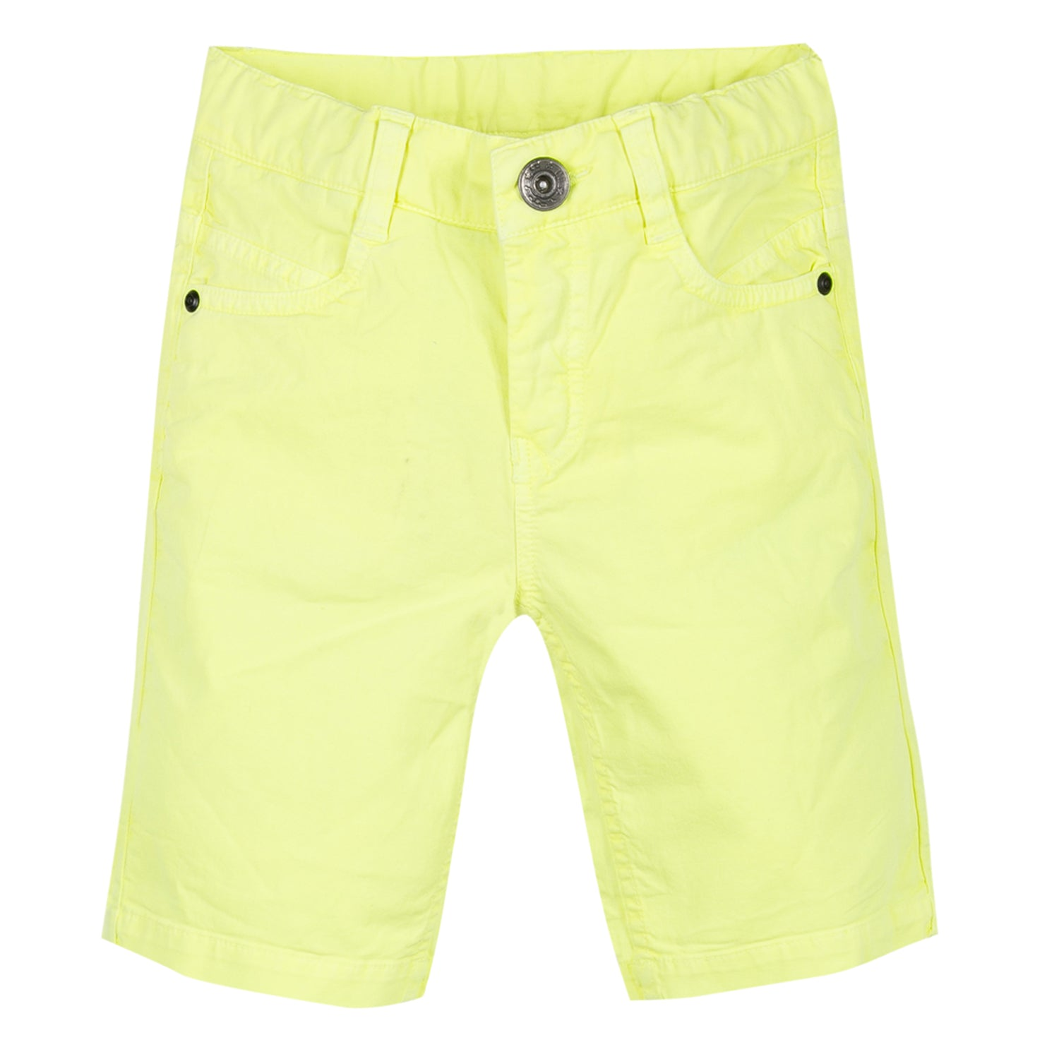4f419f0c14 3Pommes Yellow Bermuda Shorts