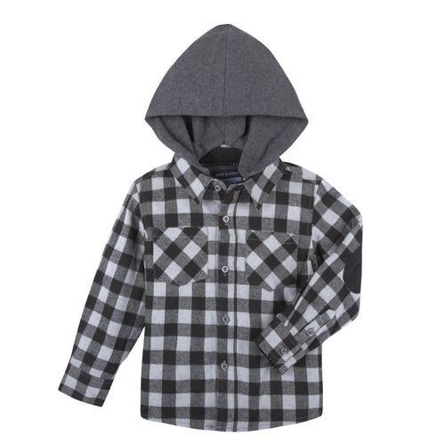 Andy and Evan Hooded Shirt