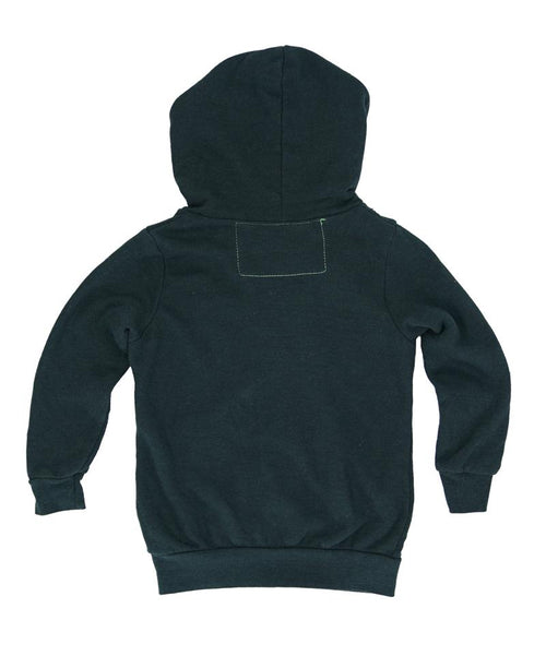 Aviator Nation Charcoal AV Stripe Hoodie