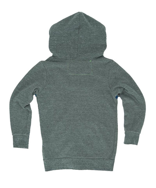 Aviator Nation Heather Grey Stripe Hoodie