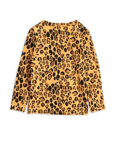Mini Rodini Basic Leopard Grandpa Shirt