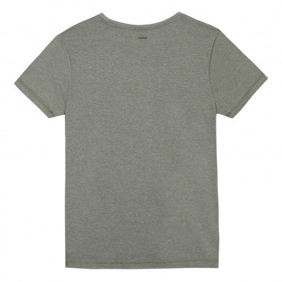 Beckaro Boys Khaki Flocked T-shirt