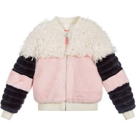 Billieblush faux fur jacket