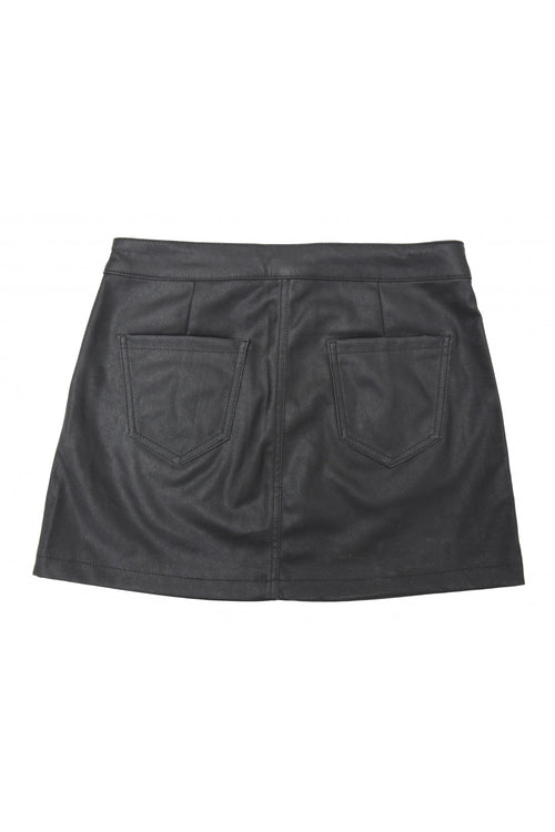 Tractr Girls Zip Me Up Mini Skirt