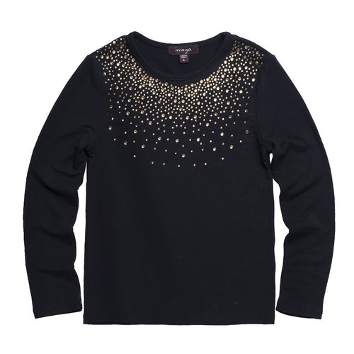 Imoga Black jewel tee