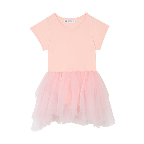 Tate & Lennox Callum Dress - Blush