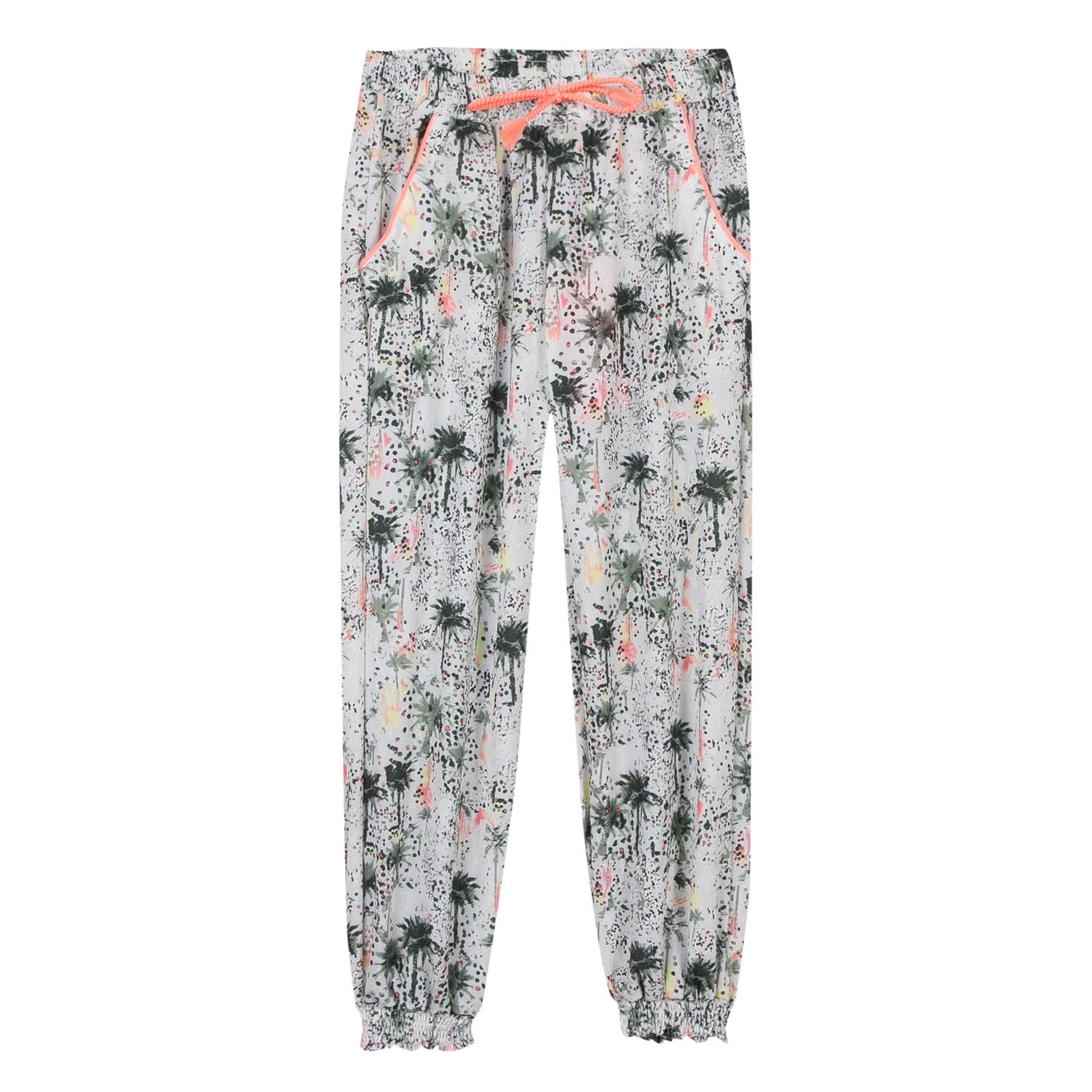 3Pommes Girls Floral Trousers