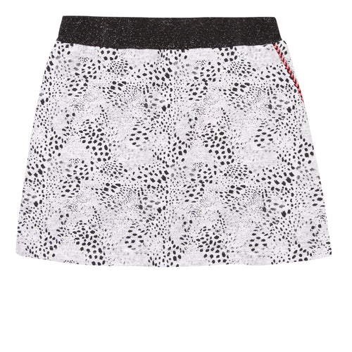 3Pommes Black and White Skirt