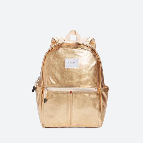 State Bag - Mini Kane Metallic Gold