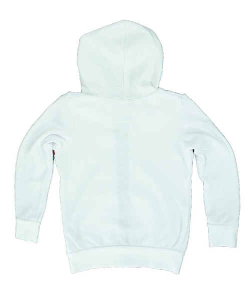 Aviator Nation White Stripe Hoodie