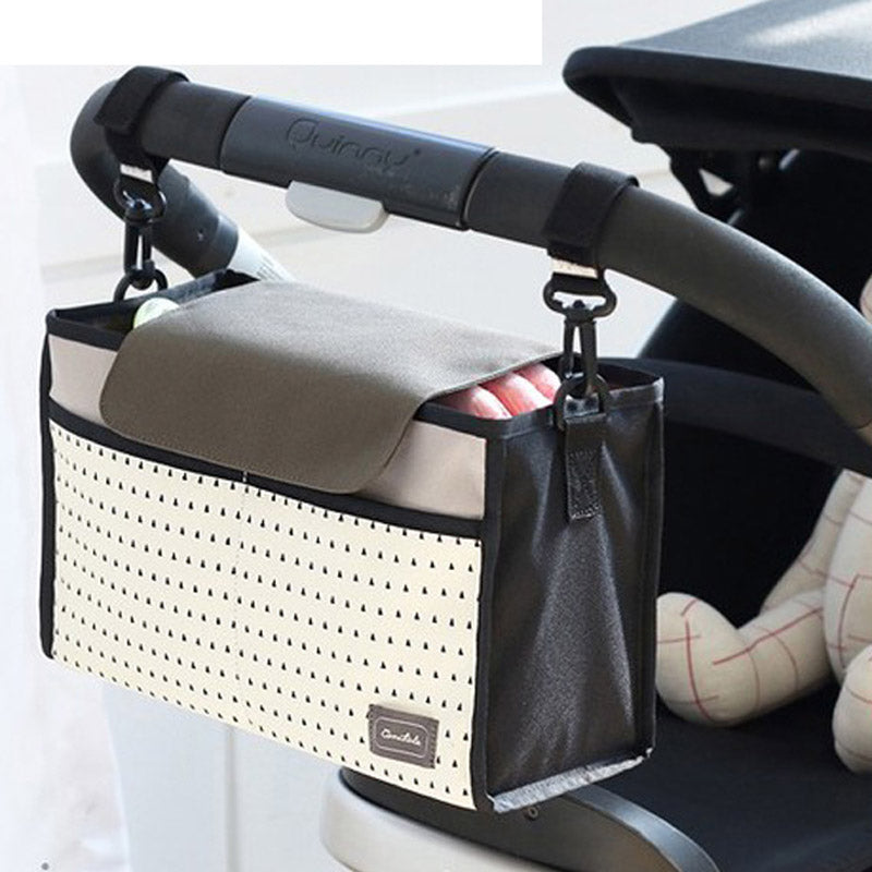Multi-functional Waterproof Universal Baby Stroller Bag. Organizer Baby Car Hanging Basket Storage Stroller Accessories