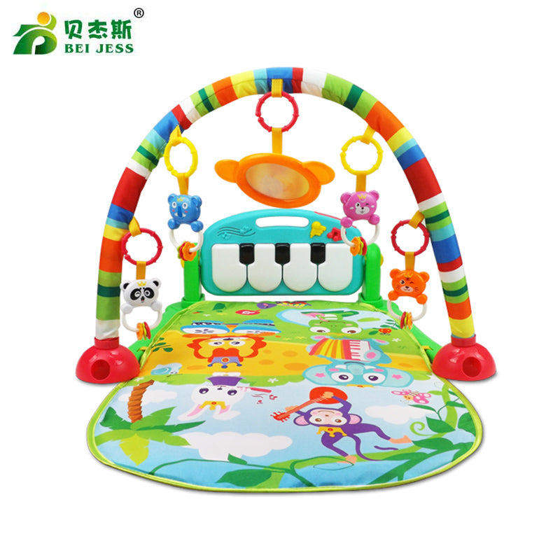 Play Away - Kick Piano Play Gym, Helps Develop motor skills for crawling and walking.