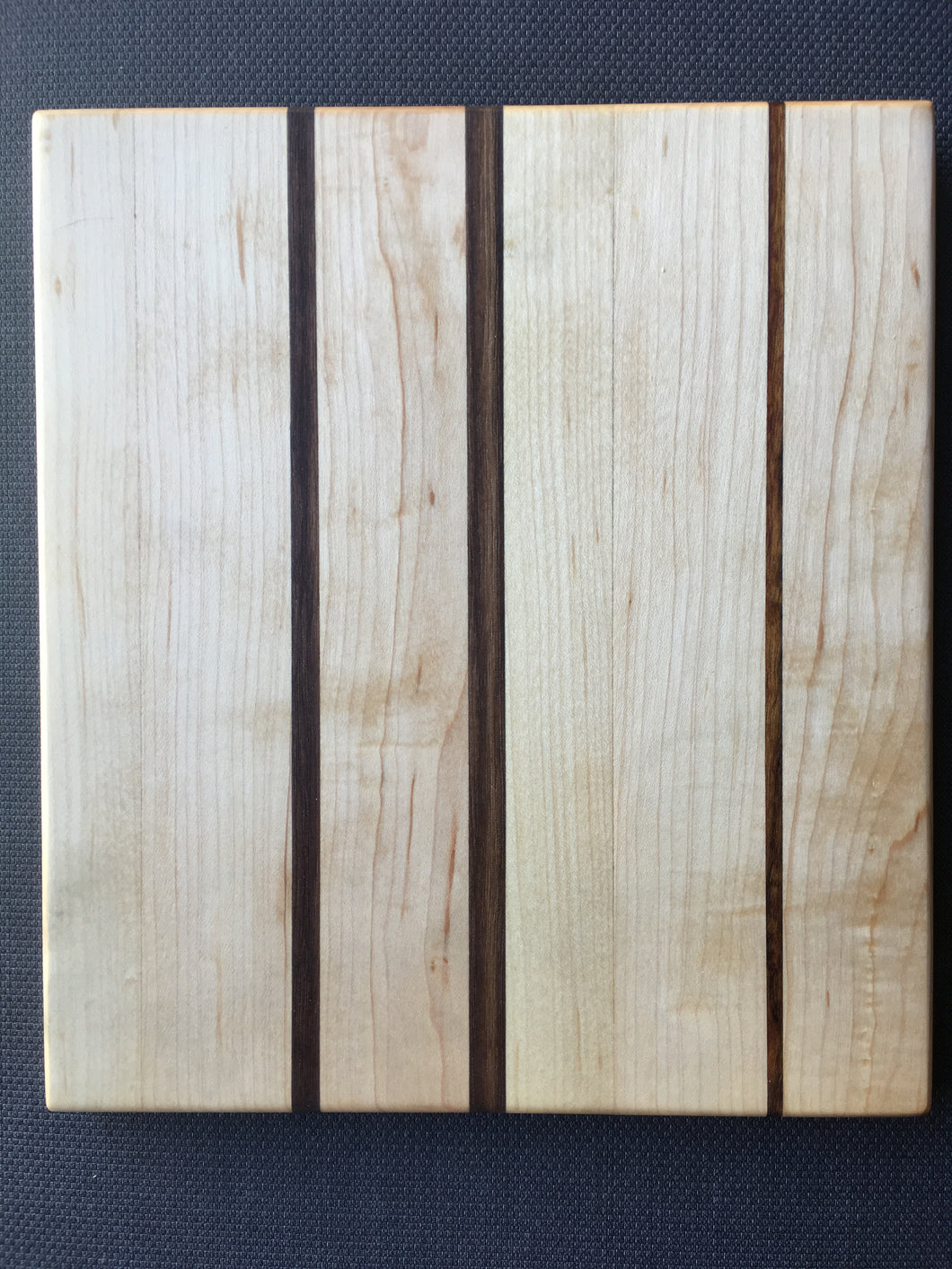 Hard maple and bubinga cutting board 9