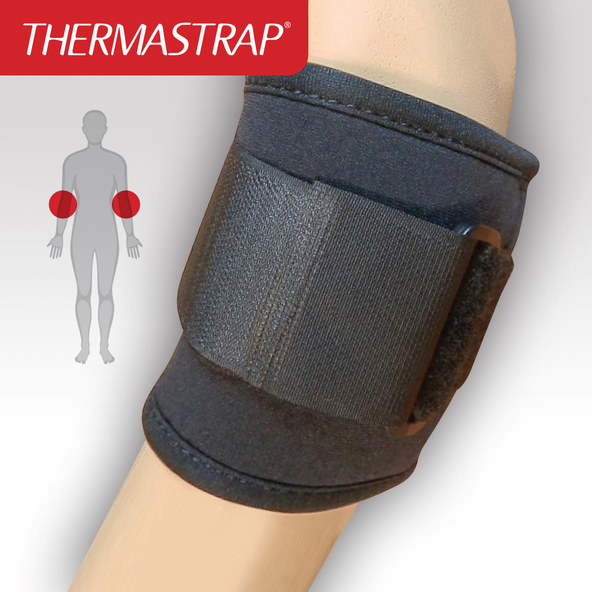 Thermastrap Tennis Elbow with Strap Support