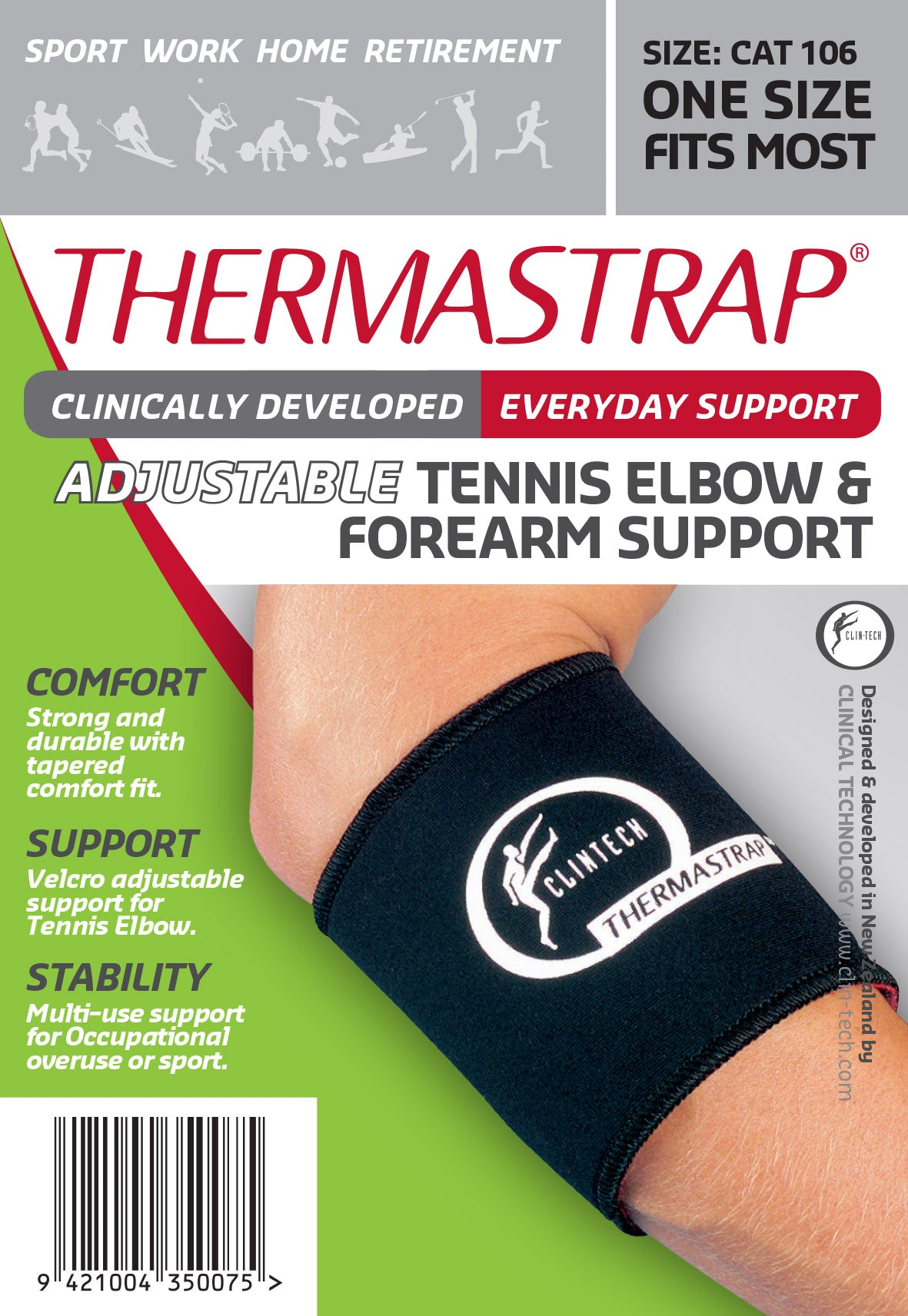 Thermastrap Tennis Elbow/Forearm Support