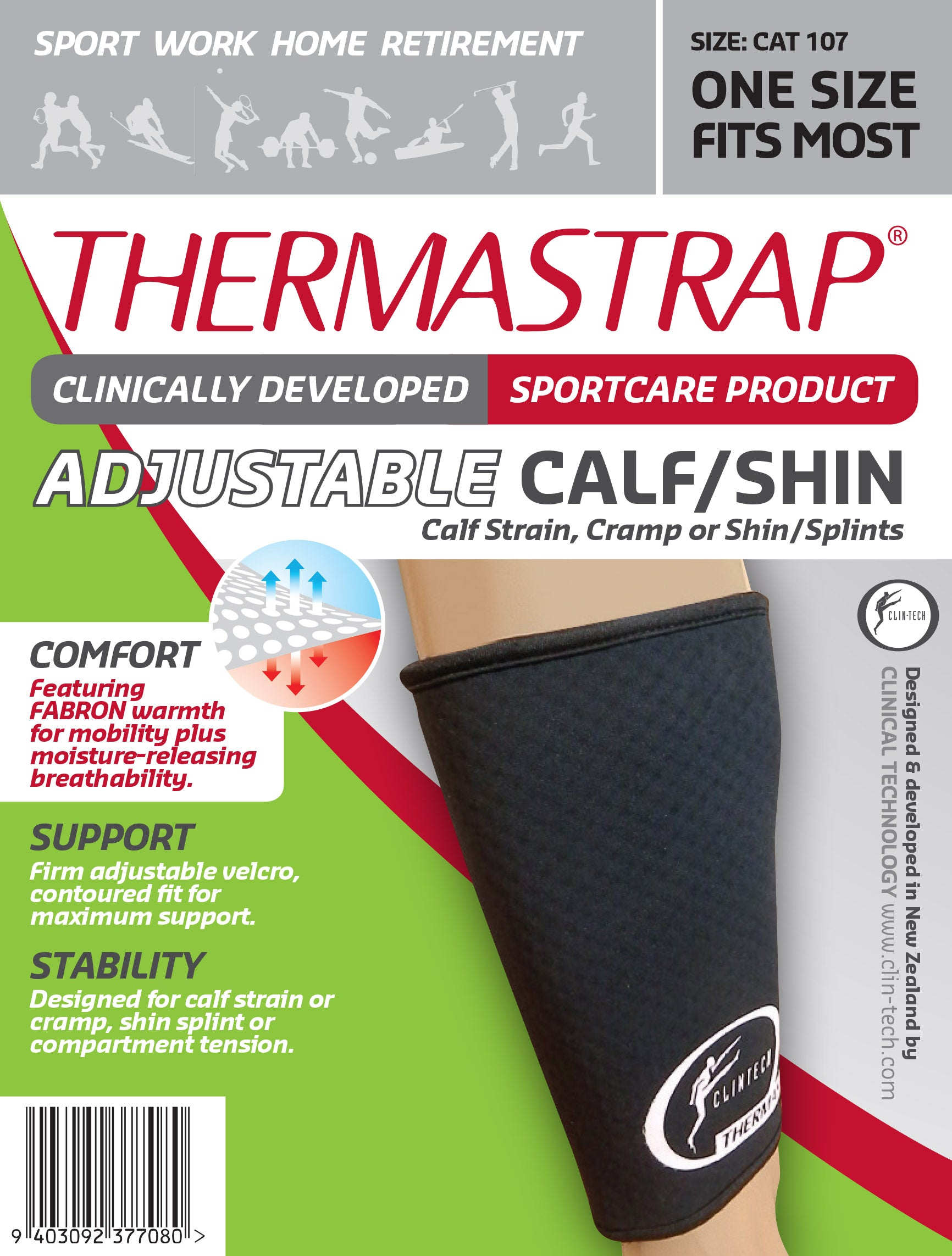 Thermastrap Calf/Shin Support