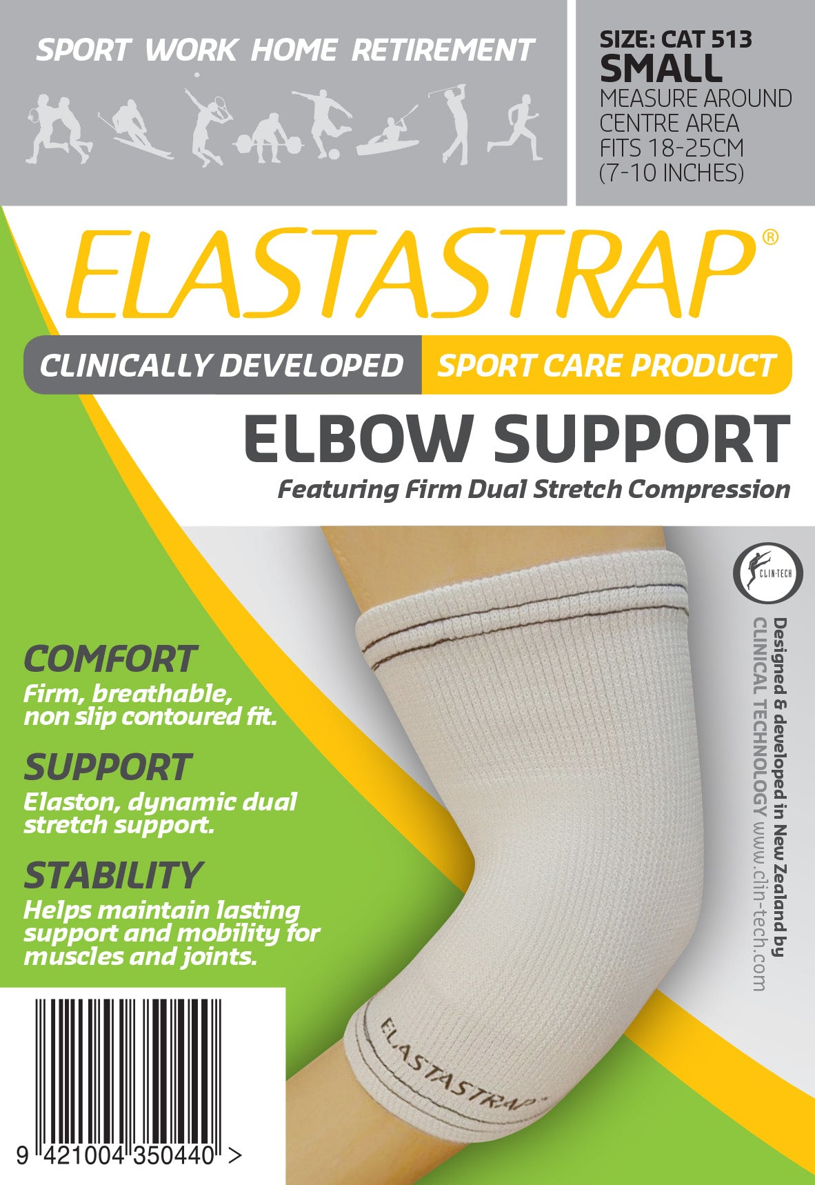 Elastastrap Compression Elbow Support