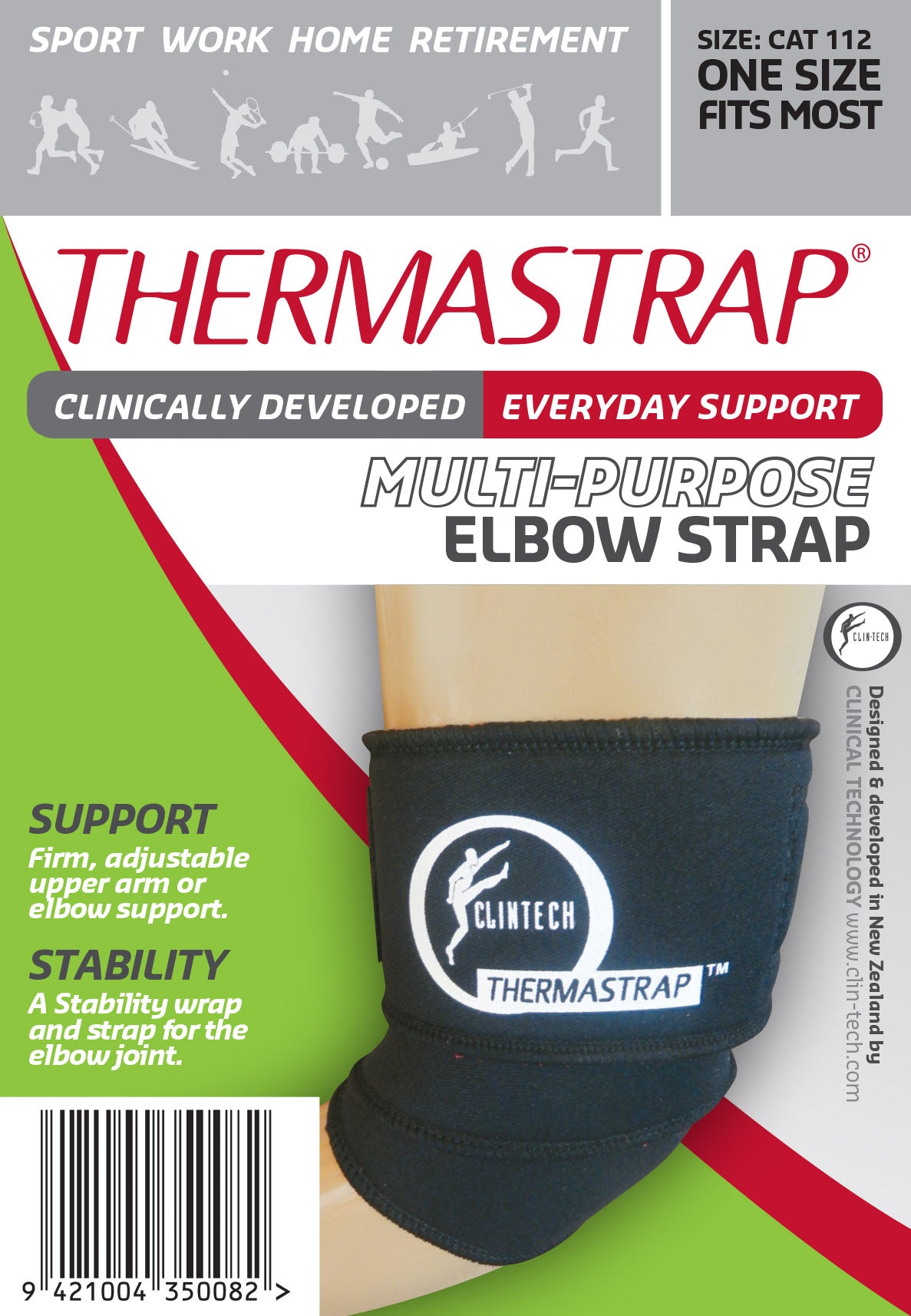Thermastrap Multi-Purpose Elbow Strap