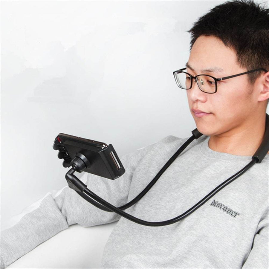 Lazy Neck Phone Holder - 75 % OFF