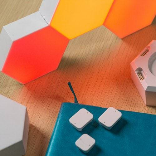 New Geometry Lamps with Voice Command Fuzz Online