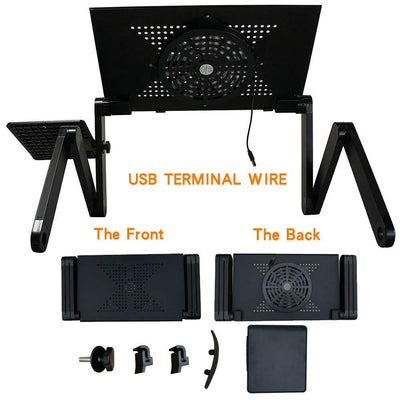 Portable Laptop Stand Table Fuzz Store