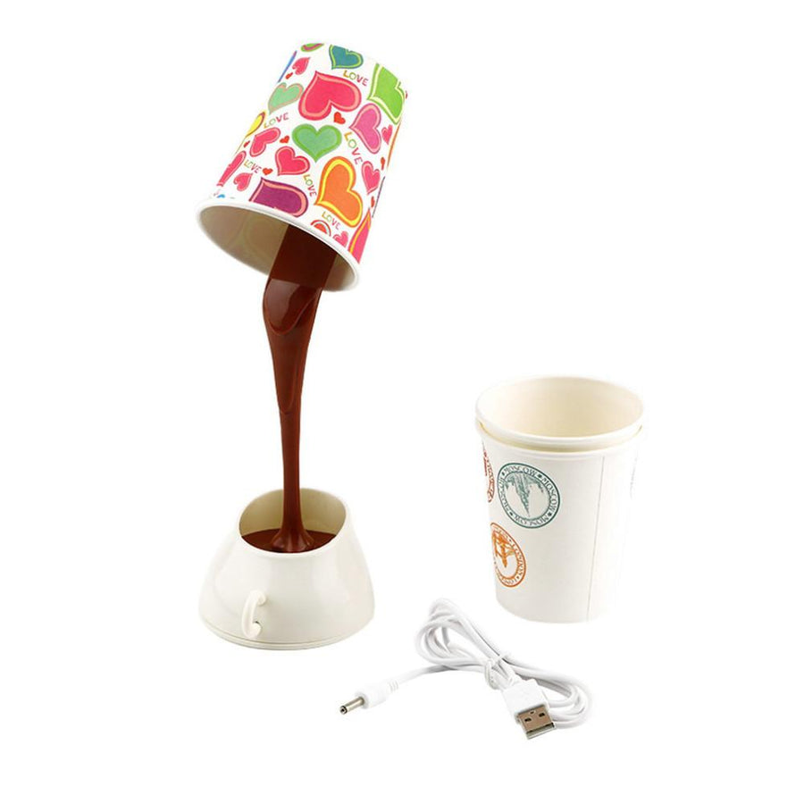 Coffee Cup Lampshade