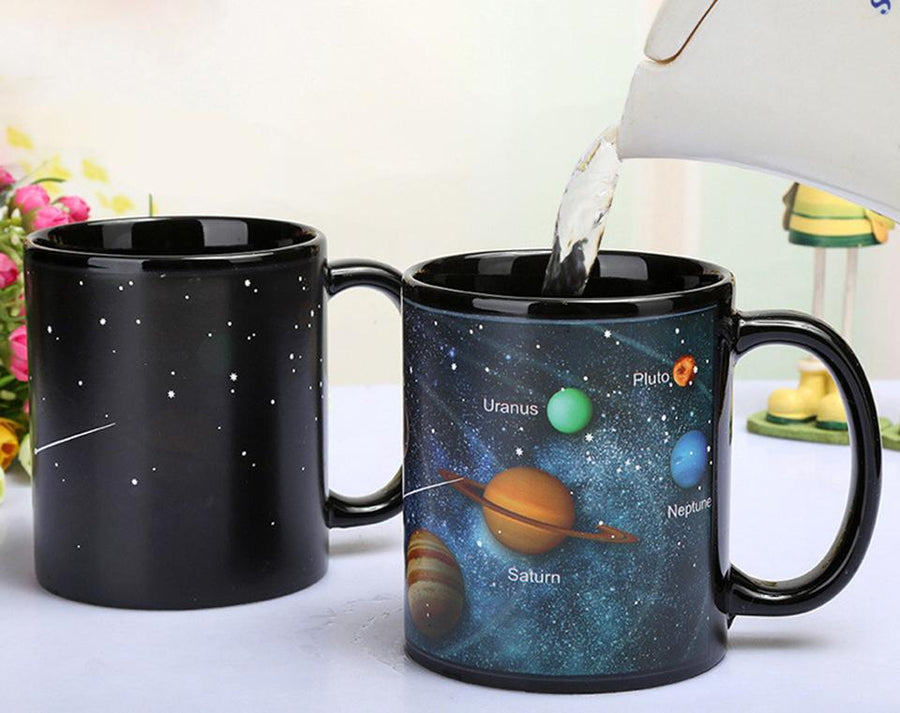Solar System Color Changing Mug Fuzz Store