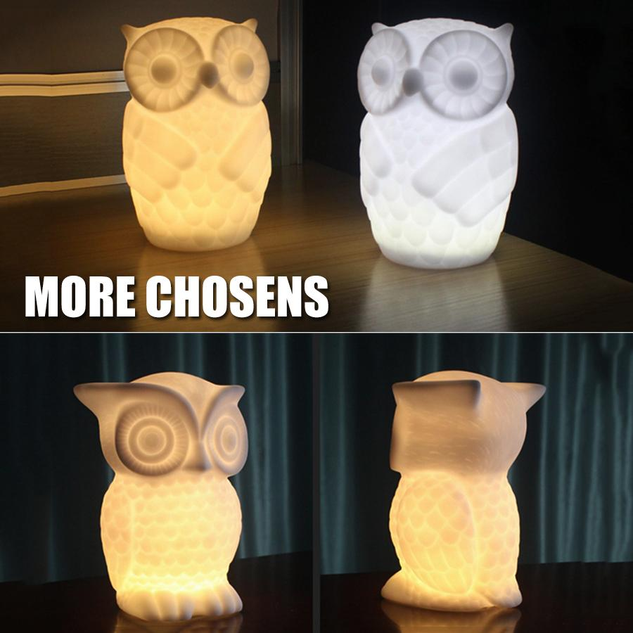 Owl LED Night Fuzz Store