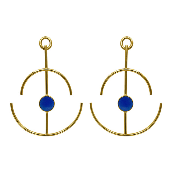 Anchor Earrings Oro