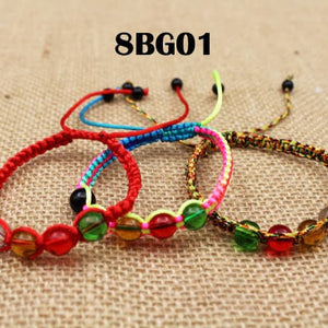 Gelang Tibet Lucky Rope Feng Shui Five Elements Hand Made (8BG01)