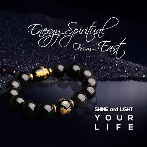 Gelang Energy Spiritual From East Rainbow Obsidian Stone (GS02)