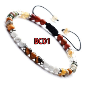 Gelang Indian Agate White Pine Classic (BC01)