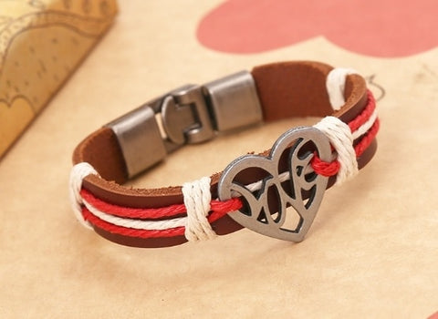 Gelang Couple Multilayer Love With Metta (FA02)