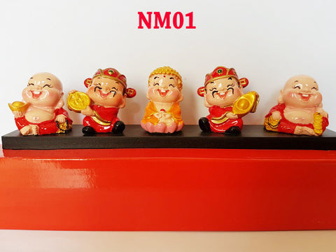 Patung Buddhist Mini Fiber (NM01 s/d NM04)(BEST QUALITY)