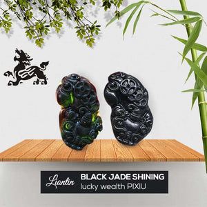 Liontin Black Jade Shining (Lucky Wealth Pi Xiu) (AD09)