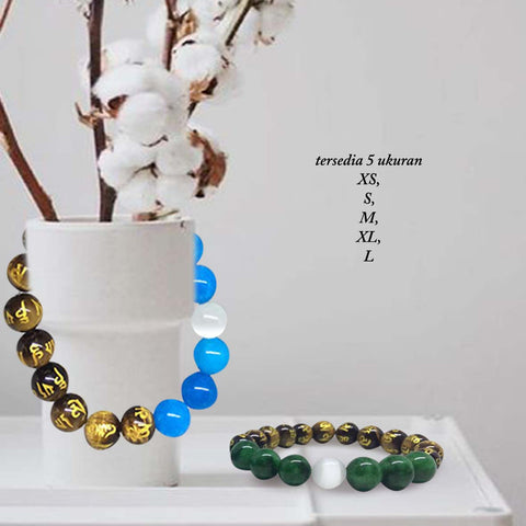 Gelang Om Mani Padme Hum Stone Of Confidence (GCS25)