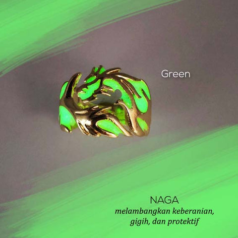 Cincin Protection Dragon (Glow In The Dark) (CB22)