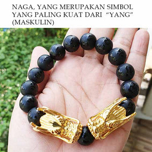 Gelang Double Golden Dragon (GS06)