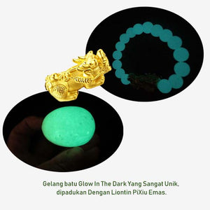 Gelang Glow In The Dark Stone (Pi Xiu) (GCS08)